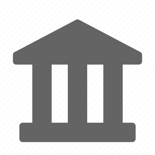 bank, museum, office icon