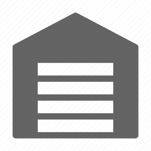 garage, home, storehouse, warehouse icon
