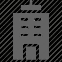 building, skyscraper, tower icon