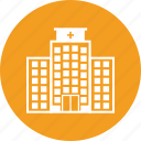 building, clinic, hospital, medicine icon