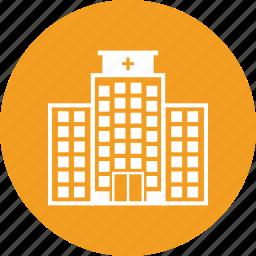 building, clinic, hospital, medicine icon