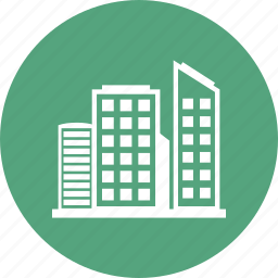 building, city, hotel, place, town icon