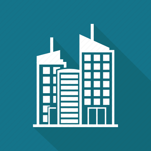 building, business, city, office, towen icon