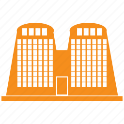 building, business, city, hotel, office icon