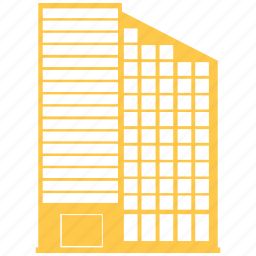apartment, buildin, building, city, hotel, office icon