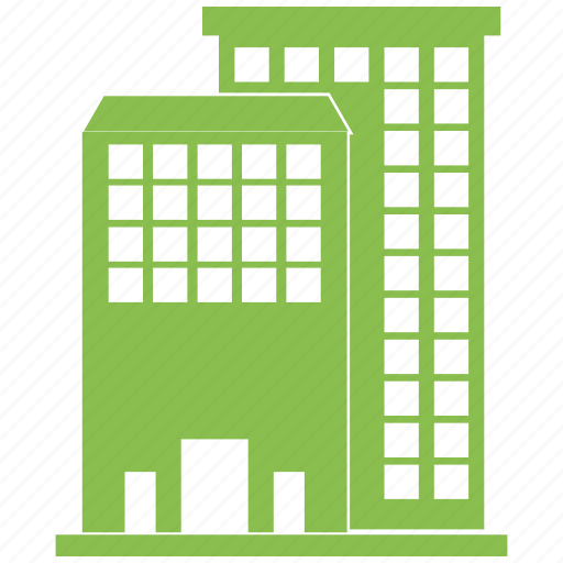 apartment, building, city, flats, office, town icon