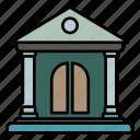 building, finance, bank