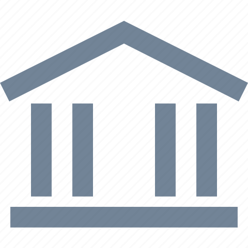 bank, buildings, business, centre, finance, house, office, residential icon