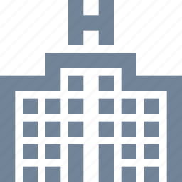 building, hospital, medical, residence, residential icon