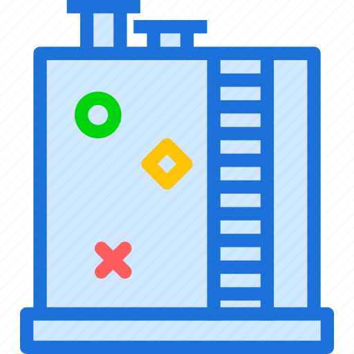 factory, firestairs, stairs icon