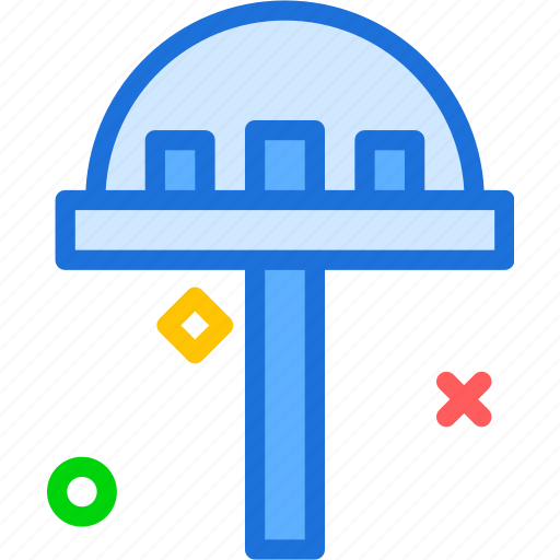 observer, tower, weather icon