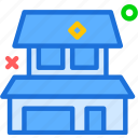 house, personalhome, square icon
