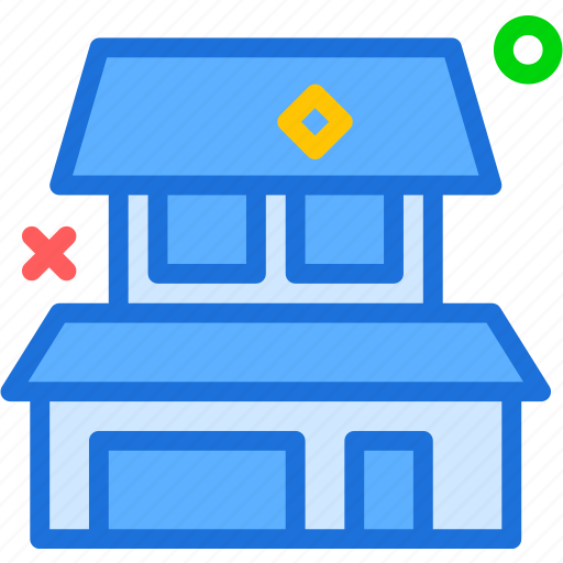 house, personalhome, square icon