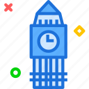 clock, london, time, uk, watch icon