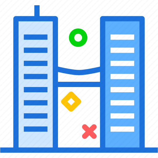 buildings, modern, officespace, twintowers icon