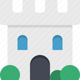 castle, construction, kingdom, medieval icon