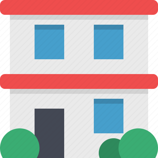 appartment, construction, home, house, mortgage, property, real estate icon