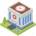 building, clinic, hospital building, medical institution, pharmacy building icon