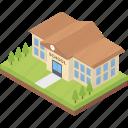 arcade, building front, condominium, school, school building, university icon