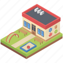 kindergarten, nursery school, playground, pre school, primary school icon
