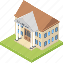 bungalow, chalet, historical building, museum, villa icon