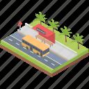 bus stand, bus stop, bus terminal, city bus terminal, local transport, parking area