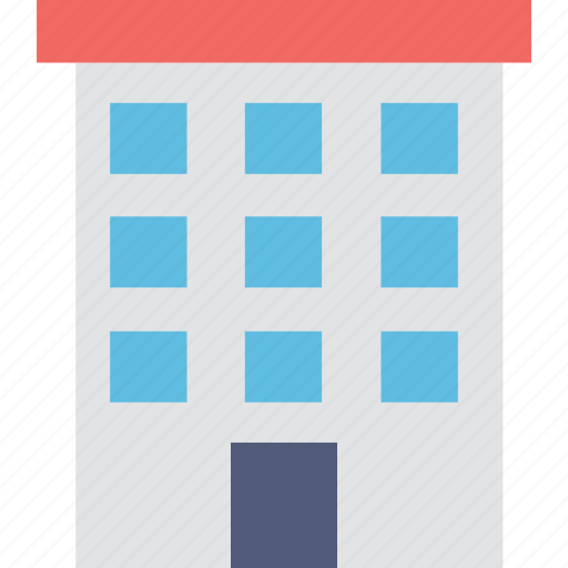 apartments, building, flats, real estate, warehouse icon