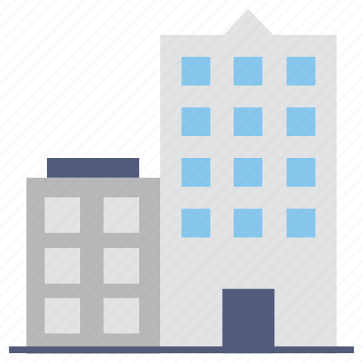 apartments, building, flats, lodge, real estate icon