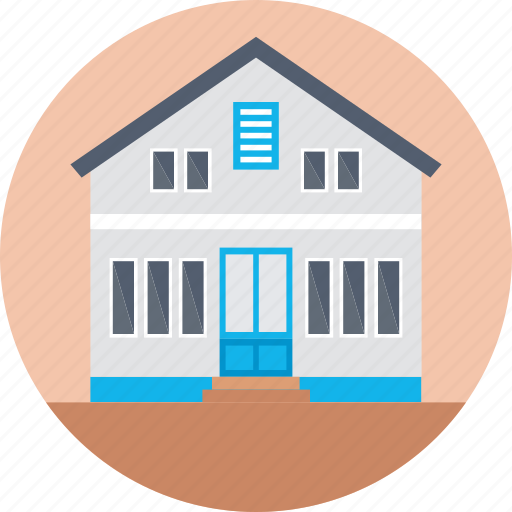 academy, building, institute, library, museum icon