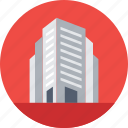 apartments, building, flats, real estate, skyscraper icon