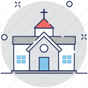 architectural, building, chapel, church, religious icon