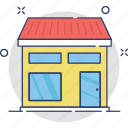 building, commercial, marketplace, shop, store icon