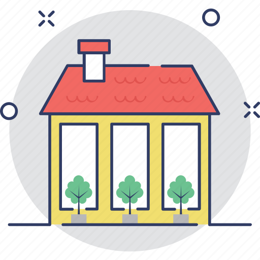 building, cottage, farmhouse, home, real estate icon
