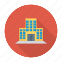 apartment, architect, building, construction, estate, office, real icon