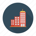 apartment, architect, building, construction, estate, real, tower icon