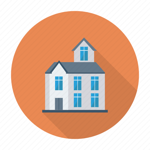 apartment, architect, building, estate, hostel, real, resident icon