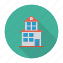 apartment, architect, building, estate, hostel, living, real icon
