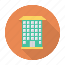 apartment, architect, building, estate, hotel, living, real icon
