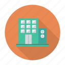 apartment, architect, building, estate, office, property, real icon