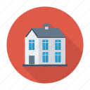 apartment, architect, building, estate, living, real, residential icon