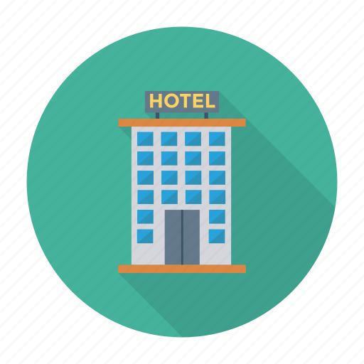 architect, building, commercial, estate, hotel, real, room icon