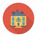 architect, building, estate, house, living, real, residential icon