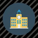 building, real, school, estate, university, college, architect icon