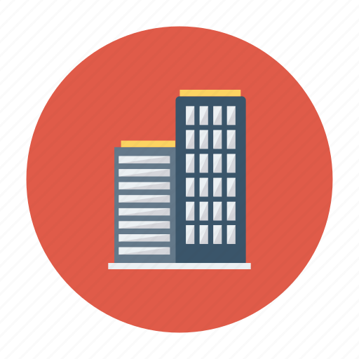 architect, building, corporate, estate, office, real, tower icon