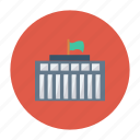 building, real, estate, office, government, architect, properity icon