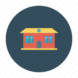 architect, building, estate, home, living, real, rooms icon