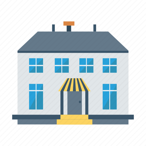 apartment, architect, building, estate, government, house, real icon