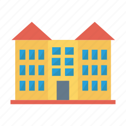 apartment, architect, building, estate, living, real, room icon