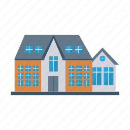 apartment, architect, building, estate, living, real, rooms icon