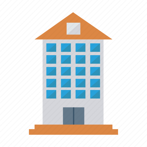 architect, building, comercial, company, estate, industrial, real icon